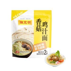 陈克明 面条 香菇鸡汁面 340g11.8元