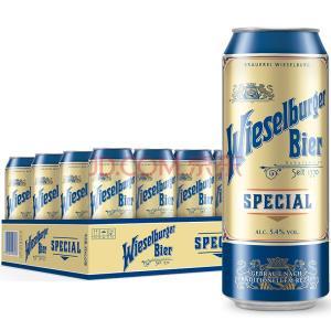 威瑟尔堡 喜力旗下特制啤酒 奥地利进口 500ml*24听整箱 1770年酿造工艺 *2件 142元(合71元/件)