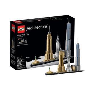 LEGO 乐高 Architecture 建筑系列 21028 纽约城304元包邮(需用券)