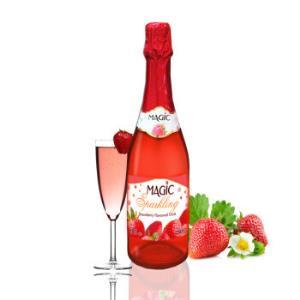 Magic sparkling 灰姑娘的梦 无醇起泡草莓味葡萄汁碳酸饮料 750ml18.8元
