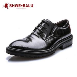 盛威保罗夏季英伦商务头层牛皮透气鞋  券后¥399