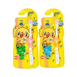 青蛙宝贝系列113B儿童软毛护龈牙刷×2(颜色 赠品随机 3岁以上适用) *7件 54元(合7.71元/件)