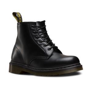 Dr.Martens 6孔101经典牛皮英伦系带男女同款马丁靴 硬皮415.55元