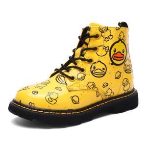 B.Duck 小黄鸭 B8596001 女孩休闲马丁靴 *3件271.9元(合90.63元/件)