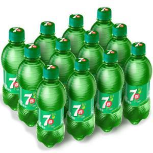 七喜 7up 柠檬味 碳酸饮料 330ml*12瓶17.9元