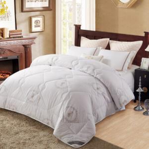博洋家纺床上用品 羊毛被子 双人加大保暖羊毛被 防潮绵羊毛冬被-维恩 200*230cm 249元