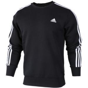 阿迪达斯 ADIDAS 男子 型格系列 ESS 3S CREW B 运动 套头衫 BQ9645 M码 229元
