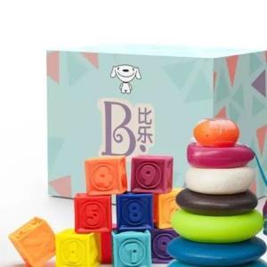 B.Toys 京东JOY联名款 捏捏乐+叠叠乐套装 119元