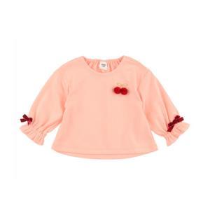 akachan honpo 阿卡佳本铺   女童糖果泡泡袖长袖T恤119元包邮