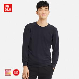 UNIQLO 优衣库 408120 男士HEATTECH圆领T恤 129元(需用券)