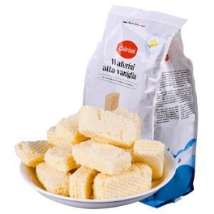 意大利进口 卡布莱妮(Cabrioni)香草味夹心威化饼干400g 休闲零食糕点 *5件 99.5元(合19.9元/件)