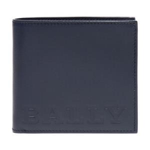 BALLY 巴利 男士深蓝色皮质短款钱包钱夹 BRASAI BOLD 07 599.7元