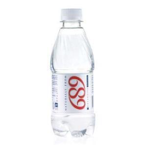 立陶宛进口 689 PURE TABLE WATER天然矿泉水 330ml*12瓶/箱进口饮用水 *2件35元(合17.5元/件)
