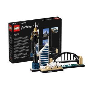 LEGO 乐高 Architecture 建筑系列 21032 悉尼+赠送Minecraft 我的世界 MINI 3 PAK 积木公仔3件189元包邮包税(需要券)