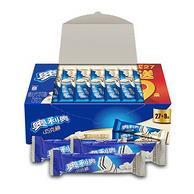 满4打5折:4件x36条 亿滋 奥利奥威化巧克棒奶白巧克力 460.8g/件 ,合19.7元/件78.8元包邮