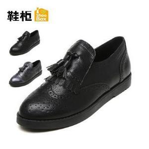 鞋柜 布洛克单鞋 19元
