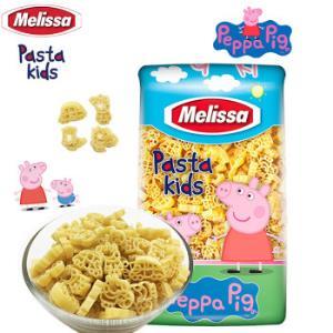 希腊进口 麦丽莎melissa 500g 意大利面儿童速食 粉红小猪 16.8元