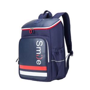 卡拉羊(Carany)中小学生减负书包休闲出行时尚背包CX5979藏青 149元