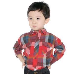 JEEP J4740105RED 男童棉质梭织衬衫 凑20元可换购 +凑单品 19.9元