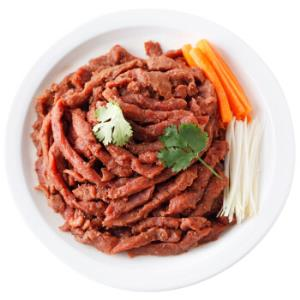 阿都沁 黑椒牛柳 150g *2件 15元(合7.5元/件)