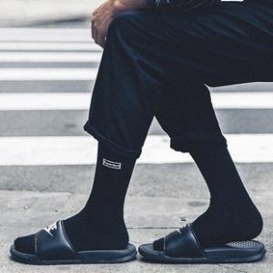 男女纯棉中筒袜防臭运动吸汗长袜  券后¥19.8