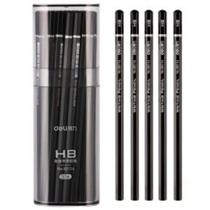 得力(deli)HB高级书写绘图铅笔 50支/桶58114 *3件 80.5元(合26.83元/件)