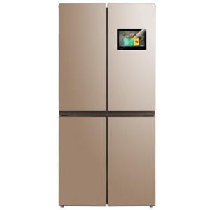 美的(Midea)445升 智慧彩屏变频十字对开门冰箱 远程控制 阳光米BCD-445WTPZM(E) 4399元