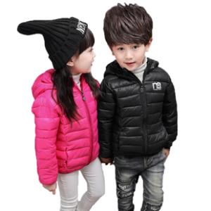 儿童连帽羽绒棉服保暖外套  券后39.9元