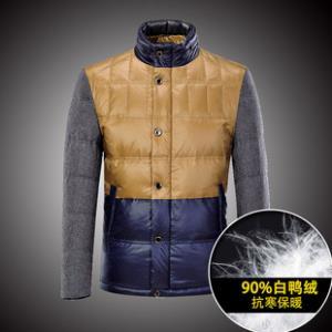 冬装都市时尚拼接立领男士羽绒服  券后¥99