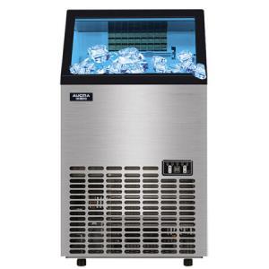 澳柯玛45冰格商用制冰机 滤水式冰块机 奶茶店KTV酒吧 60KG全自动制冰机 AZH-60NE