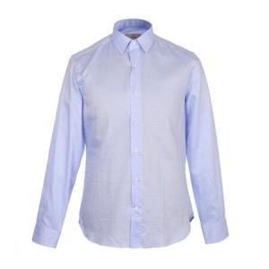 CANALI 康纳利 男士浅蓝色棉质长袖衬衫 XA1 GD01353 401 39码1919元
