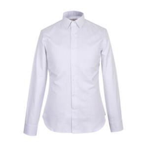 CANALI 康纳利 男士银灰色棉质格纹长袖衬衫 XA1 GD01326 001 39码1679元
