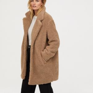 H&M HM0666006 女士毛绒大衣 220元
