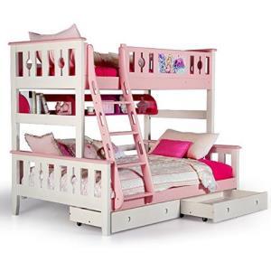 多喜爱AOK 儿童床 松木双层床双人上下铺床成人实木高低子母床 (1.2 * 2.0m,高低床+书架+拖箱)6078.1元