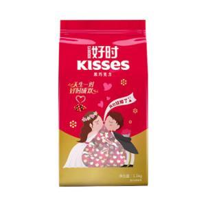 好时之吻Kisses 黑牛奶巧克力休闲零食结婚糖果婚庆喜糖散装 1.1kg94.5元