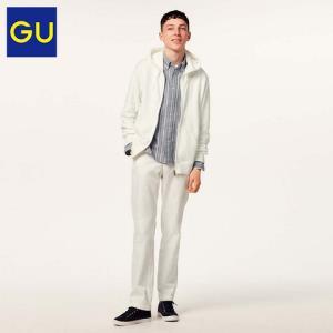 GU 男装 拉链连帽运动开衫 314539 极优