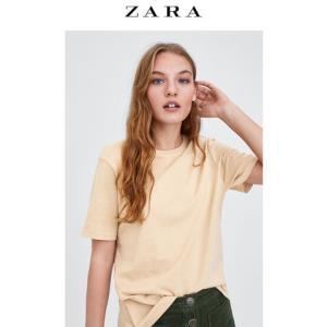 ZARA新款 TRF 04873018942  女士T恤