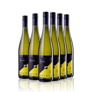 SCHITTLER BECKER 施德罗贝克尔 经典雷司令 半干白葡萄酒 2017年 750ml*6支 箱装
