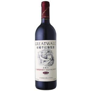 长城(GreatWall)红酒 精选级赤霞珠干红葡萄酒 750ml *18件