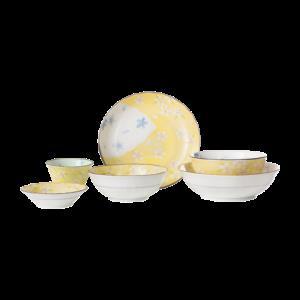 日本制造 美浓烧京樱餐具6件套159元