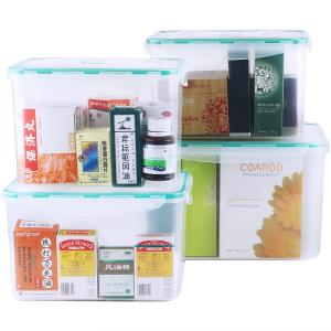21日10点:乐亿多保鲜盒大容量保鲜盒2件套4.6L(前1000件) 34.5元