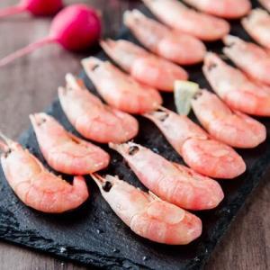 Seamix 禧美海产 熟冻北极甜虾 200g9.9元