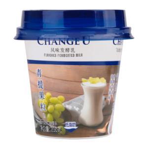 Bright 光明 CHANGE U 畅优 风味发酵乳 低脂青提果粒酸奶 210g *45件151.5元(合3.37元/件)
