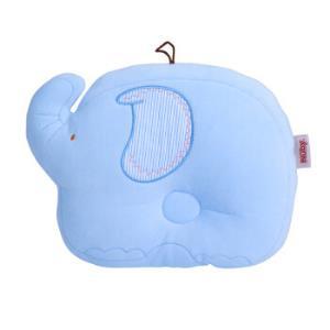 Nuby 努比 婴幼儿定型枕头 蓝底绣花 *5件159.5元(合31.9元/件)