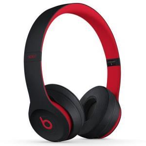 22点:Beats Solo3 Wireless  蓝牙无线耳机 桀骜黑红(十周年版) MRQC2PA/A1968元