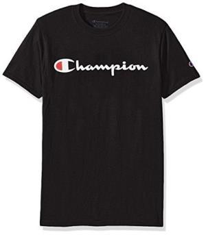 Champion冠军 经典logo 中性款短袖T恤衫73.55元