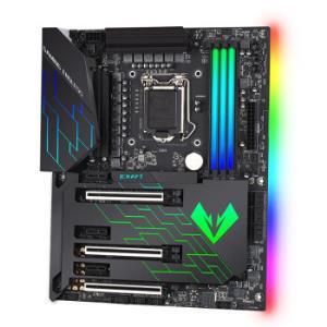 MAXSUN 铭�u MS-iCraft Z390 Gaming 电竞之心 主板 1379元