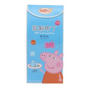 金稻谷 小猪佩奇乳制布丁(酸奶味)210g 儿童休闲零食 *12件102.8元(合8.57元/件)