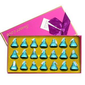 好时之吻 巧克力礼 21粒礼盒装 24.9元包邮