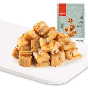 良品铺子 卤藕 烧烤味 藕片莲藕零食小吃卤味素食湖北洪湖特产168g13.9元